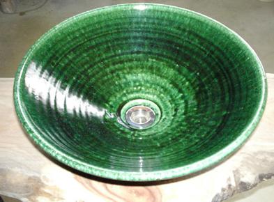 織部│真山窯の美濃焼陶芸手洗い鉢